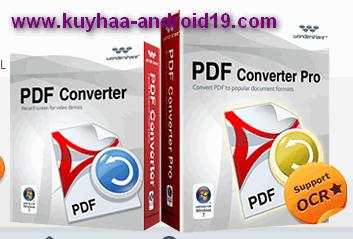 WONDERSHARE PDF CONVERTER PRO 4.0.1.1