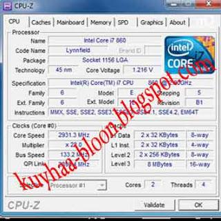 CEK SPEK PC DENGAN SOFTWARE FREE